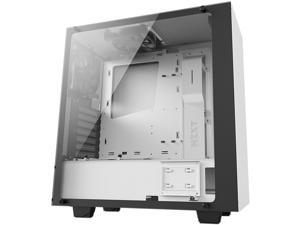 NZXT S340 Elite Matte White Steel/Tempered Glass ATX Mid Tower Case