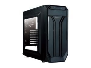 Rosewill BRADLEY M ATX Mid Tower Gaming Case With Window Panel, Three Fans Pre-Installed, USB 3.0 x 2