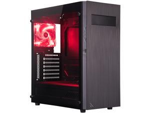 ROSEWILL | METEOR XR Gaming PC Case / ATX Mid Tower Computer Case with Tempered Glass Side Window
