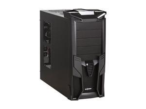 LOGISYS Computer CS1200BK Optimus All Black Gaming Case