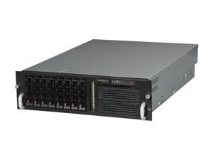 SUPERMICRO CSE-833T-R760B Black 3U Rackmount Server Case