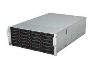 SUPERMICRO SuperChassis CSE-846E26-R1200B Black 4U Rackmount Server Case