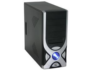 APEX PC-336 Black/Silver Computer Case