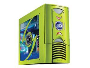 RAIDMAX Scorpio ATX-868WGP Green Computer Case With Side Panel Window
