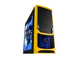 RAIDMAX Tornado ATX-238WY Black / Yellow SECC Steel ATX Mid Tower Computer Case