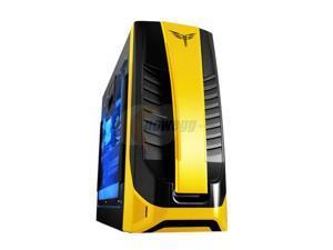RAIDMAX ENZO ATX-617WY Black / Yellow Computer Case With Side Panel Window