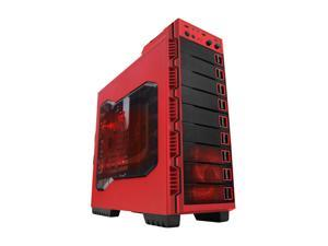 RAIDMAX Seiran ATX-902WR Red Steel / Plastic ATX Mid Tower Computer Case