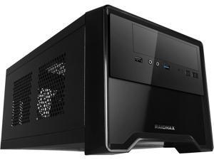 RAIDMAX Element ATX-101B Black/Grey Steel / Plastic Mini-ITX Tower Computer Case