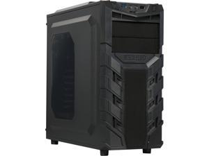 RAIDMAX Vortex V3 ATX-403WBP Black Steel / Plastic ATX Mid Tower Computer Case with 450W Power Supply Pre-installed