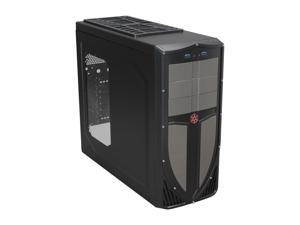 SilverStone Redline series RL02B-W-USB 3.0 Black Computer Case With Side Panel Window