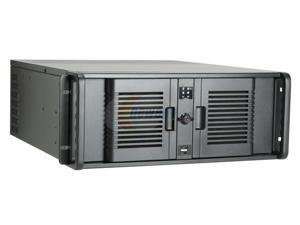 iStarUSA D-4-B350PL Black Server Case