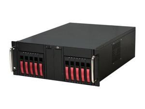 iStarUSA D-410-B10SA-RED Red 4U Rackmount Server Case