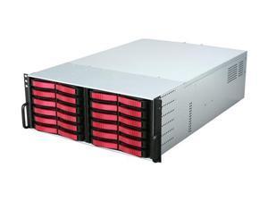 iStarUSA V4M24SA-RD-18R4H 4U Rackmount Server Chassis - OEM