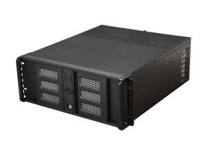 iStarUSA D400-6SE-BK 4U Rackmount Compact Stylish Server Chassis - OEM