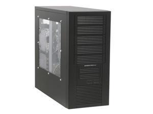 Sunbeam Freezing-Storm IC-FS-BK Black Computer Case With Side Panel Window
