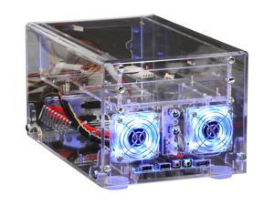 Sunbeam ACMI-P-T Transparent Computer Case With Side Panel Window