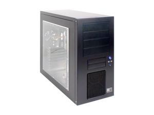 KINGWIN KT-424-BK-WM Black Computer Case With Side Panel Window