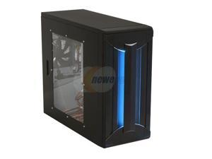 KINGWIN SK523BKWBC Black Computer Case With Side Panel Window