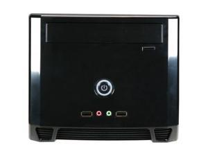 Athenatech  A1089BB.150  Glossy Black  SECC Steel  Mini-ITX Tower  Computer Case150W  Power Supply with Glossy Black Front ...