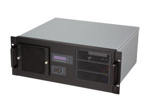 Athena Power RM-4UD438B75 Black 4U Rackmount Server Case