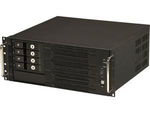 Athena Power RM-4U400SH34TLA Black 4U Rackmount Server Case