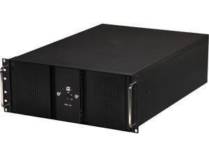 Athena Power RM-DD4U48E708 Black 1.2mm Steel 4U Rackmount Server Case - OEM