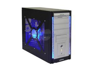 ASYS 8654BW Black Computer Case With Side Panel Window