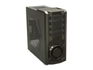 XION XON-570 Black Computer Case With Side Panel Window