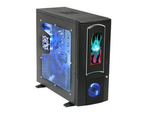 ATRIX CSCI-G8022C-C43 Black Computer Case With Side Panel Window