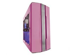 SIGMA ZEN ZEN-WDP diamond pink Computer Case With Side Panel Window