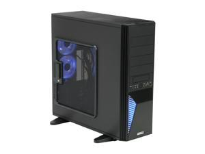 GIGABYTE GZ-FA2CA-AJB Black Computer Case With Side Panel Window
