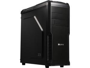 ZALMAN Z3 Black Steel / Plastic ATX Mid Tower Computer Case Compatible with Standard ATX / ATX12V (not included) Power Supply