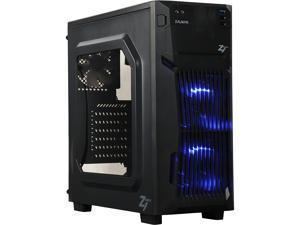 ZALMAN Z1 Neo Black Steel / Plastic ATX Mid Tower Computer Case Standard ATX / Micro ATX / ITX Power Supply