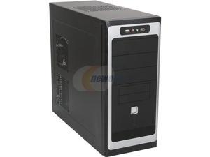 TOPOWER TP-6208BB Black Computer Case With Side Panel Window