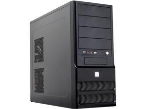 TOPOWER TP-6205BB-550 Black Computer Case