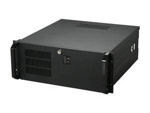 Habey RPC-810 Black Heavy duty 1.2mm cold-rolled steel, texture power coated 4U Rackmount Server Chassis