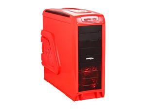Sentey Extreme Division GS-6400R - ARVINA Red and Black Computer Case