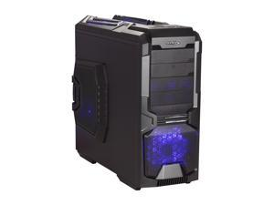 Sentey Extreme Division GS-6600 Wolf Sandy Mate Black 1mm SECC ATX Full Tower Computer Case