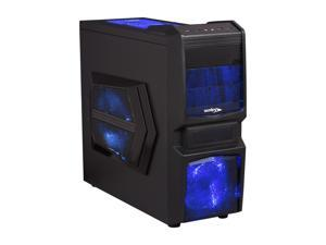 Sentey Extreme Division GS-6050 Halcon Black Computer Case