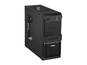 Sentey Extreme Division GS-6010 Sandy Matte Black Computer Case