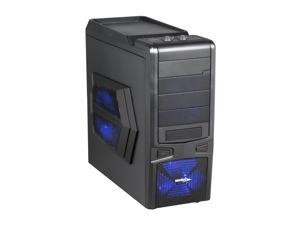 Sentey Extreme Division GS-6060 Plus Sandy Matte Black Computer Case With Side Panel Window
