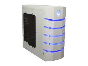 BitFenix Colossus White Window / Blue LED / White Steel / Plastic ATX Full Tower Computer Case
