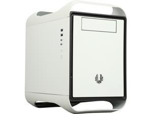 BitFenix Prodigy M Window Side Panel Computer Case, White, BFC-PRM-300-WWWKW-RP, Micro ATX / Mini-ITX Form Factor, Compatible with ATX PSU