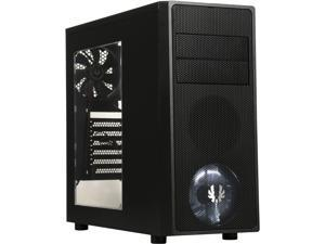 BitFenix Neos Window Side Panel Computer Case, Black/Black, BFC-NEO-100-KKWSK-RP, ATX/Micro ATX/Mini-ITX Form Factor, Compatible with ATX PSU