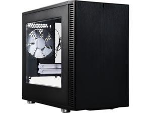 Fractal Design Define Nano S Black Window Silent Mini ITX Mini Tower Computer Case