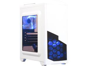 DIYPC DIY-N8-W White SPCC MicroATX Mini Tower Computer Case
