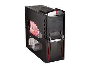AZZA Armour 203 CSAZ-203 Black Computer Case With Side Panel Window