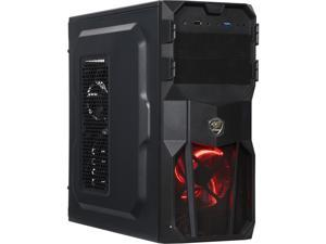 COUGAR MX200 Black ATX Mid Tower Computer Case Standard ATX PS2 (optional) Power Supply