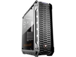 COUGAR Panzer ATX Mid Tower Transparent Fortress Computer Case