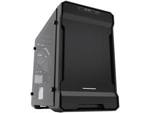 Phanteks PH-ES215PTG_BK Black Steel plates, Plastic, Steel chassis Mini-ITX Tower Computer Case